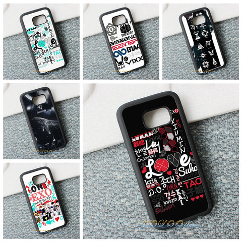 EXO Fashion Protection Phone Case(SAMSUNG)