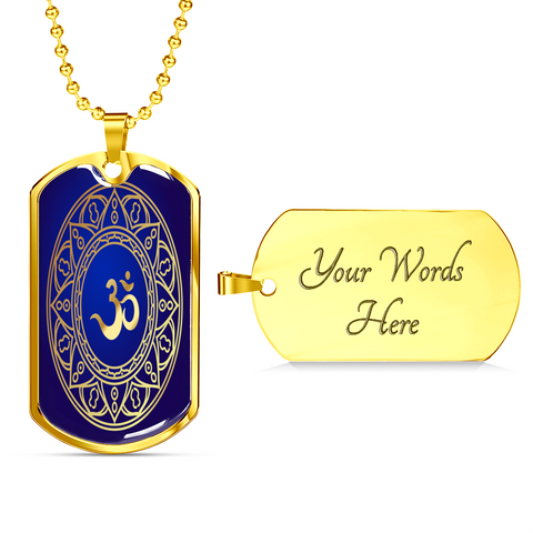 Image of Yoga Dog Tag