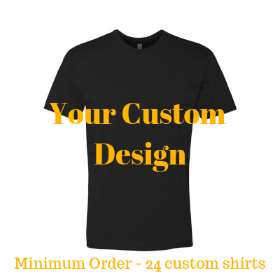 Premium black shirt by Jits Culture for custom printing - grow your business