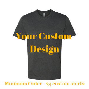 Premium charcoal shirt by Jits Culture for custom printing - grow your business