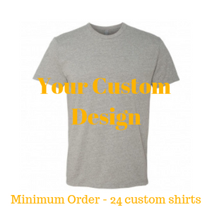 Premium dark heather grey shirt by Jits Culture for custom printing - grow your business
