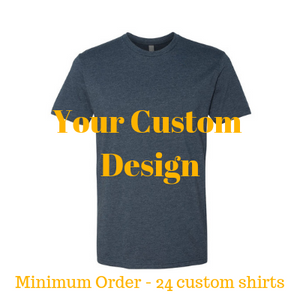 Premium midnight navy shirt by Jits Culture for custom printing - grow your business