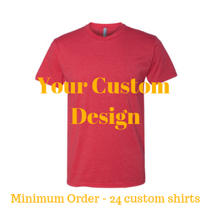 Premium red shirt by Jits Culture for custom printing - grow your business