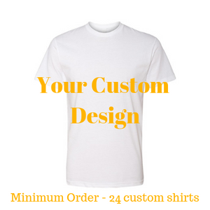 Premium white shirt by Jits Culture for custom printing - grow your business