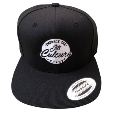 Premium snapback hat by Jits Culture for the jiu jitsu lifestyle. Your  brand for high 970bbf00c486
