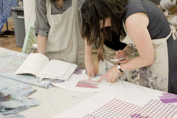 learn to print with natural dyes
