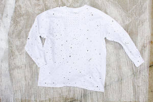 Long Sleeve connect the dots T-shirt