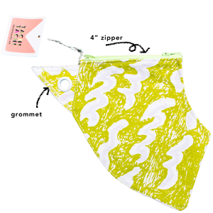 Small Color changing Beach Pouch