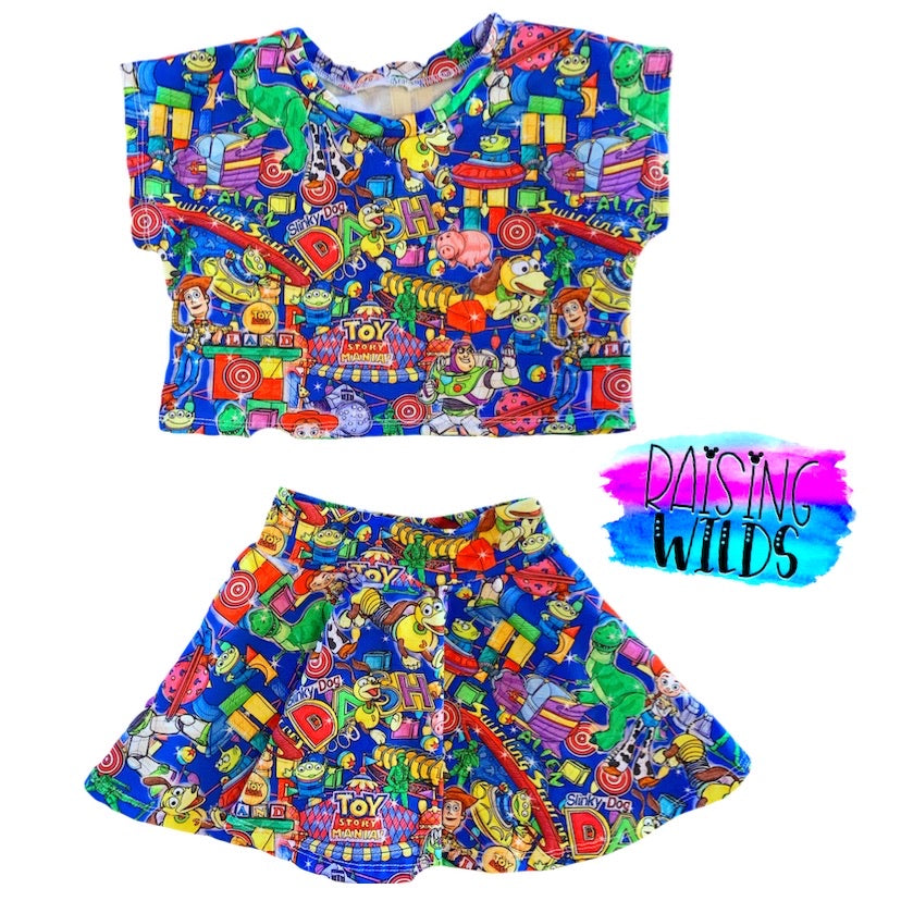Toy Land Two Piece Set