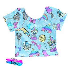 Exclusive Pastel Magic Crop Top
