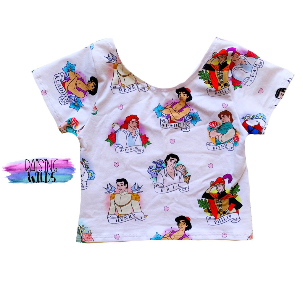 Prince Charming Crop Top