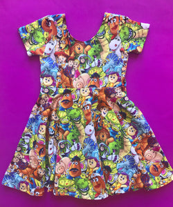 Toys Stacked Twirl Dress