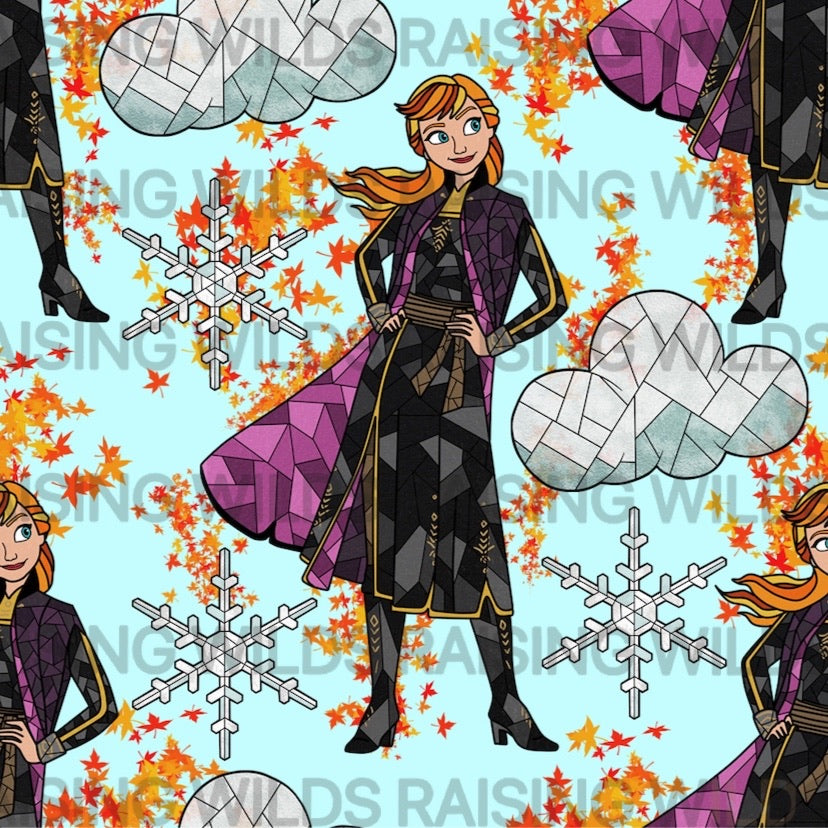 PREORDER Stained Glass Princess Regular Leotard