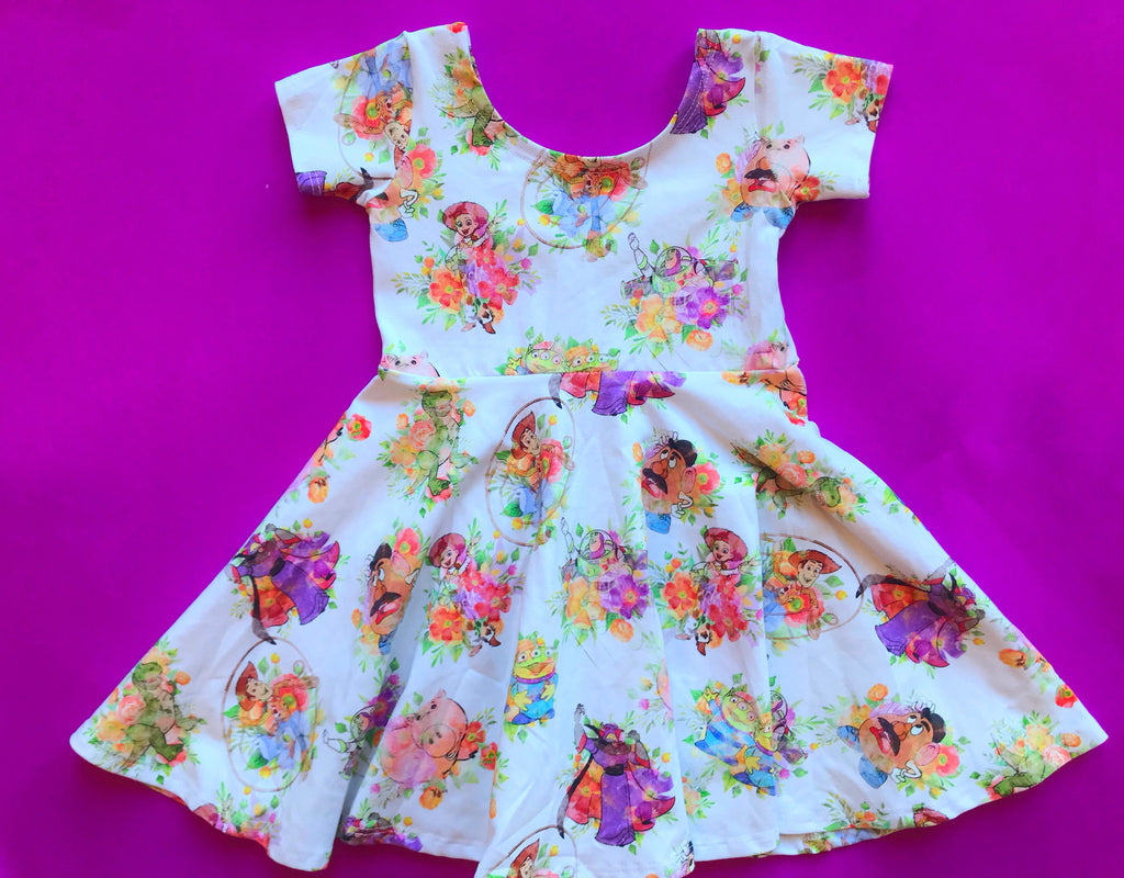 Toys Floral Twirl Dress