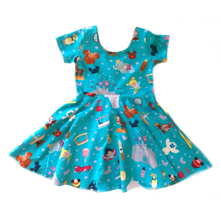 Blue Park Favs Twirl Dress