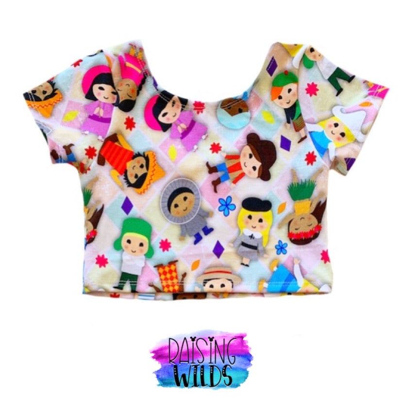 Small World Exclusive Crop Top