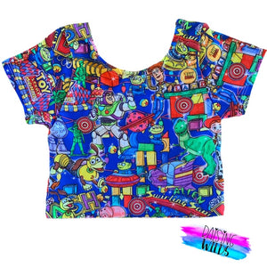 Toy Land Crop Top
