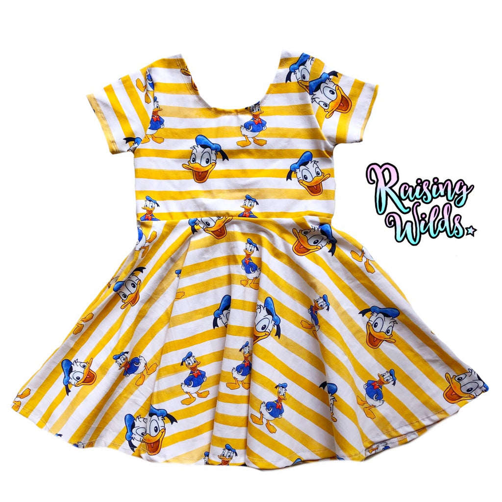 Mr. Duck Twirl Dress