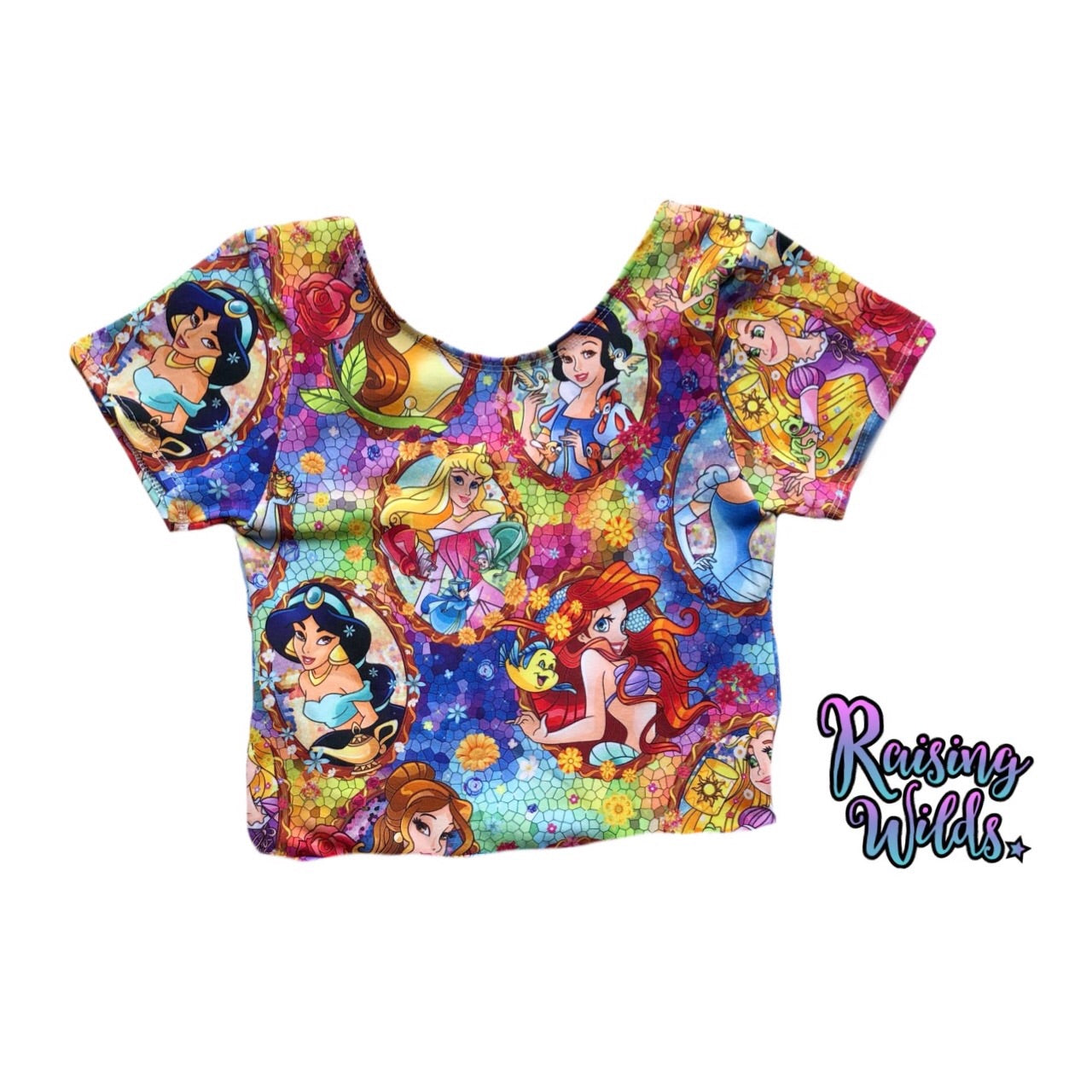 Stained Princess Crop Top