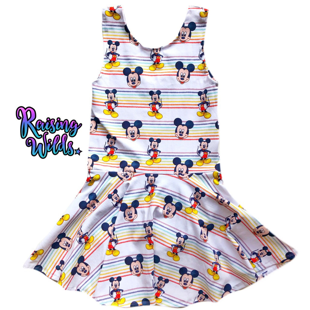 Rainbow Boy Mouse Peplum