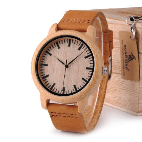 Classic Bamboo Wood Watch - Wood Addictions