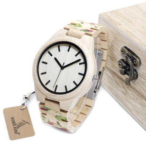 Pinewood Limited Edition Wooden Watch - Wood Addictions