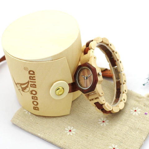 Lady's Wooden Watch - Wood Addictions