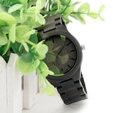 Dark Sandalwood Wooden Watch - Wood Addictions