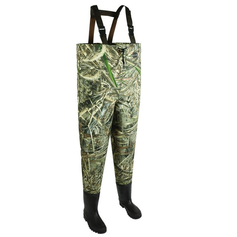 Allen Ridgeway 2Ply Mens Bootfoot Wader-Realtree Max-Size 12