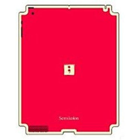 Semikolon 9930004 Removable Skin for iPad 2 - Red