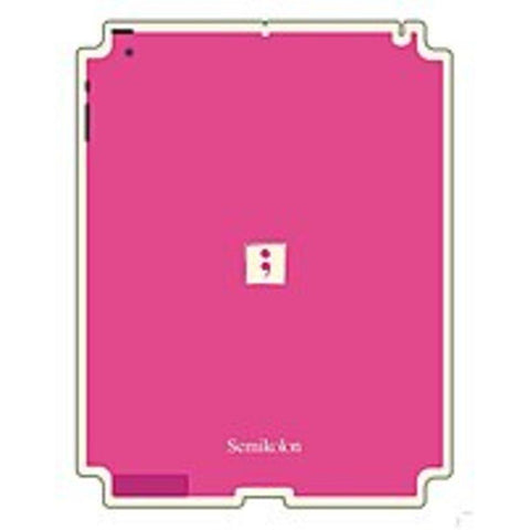 Semikolon 9930006 Removable Skin for iPad 2 - Pink