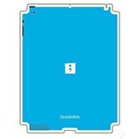 Semikolon 9930019 Removable Skin for iPad 2 - Turquoise