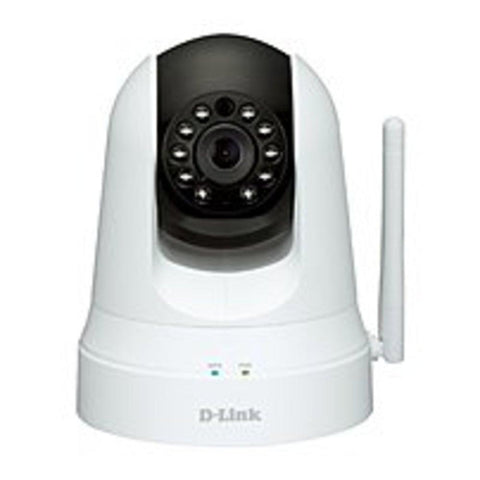 B D-Link DCS-5020L Wireless Pan/Tilt Network Surveillance Camera - 4x Digital Zoom - MJPEG - 640 x 480