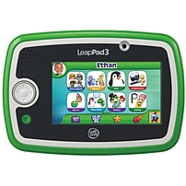 NOB LeapFrog LeapPad3 31500 Kids Learning Tablet - 1.0 GHz Processor - 4 GB Storage - 5.0-inch Display - Green