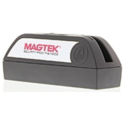 NOB MagTek DynaMAX 21073154 ISO 7810/7811 Magnetic Card Reader - USB, Bluetooth - 2 x Alkaline AA (Batteries Not Included) - Black