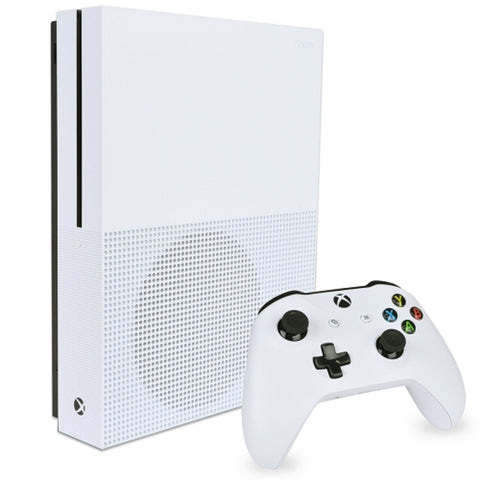 Microsoft Xbox One S Console w/2TB HDD & Wireless Controller (White)