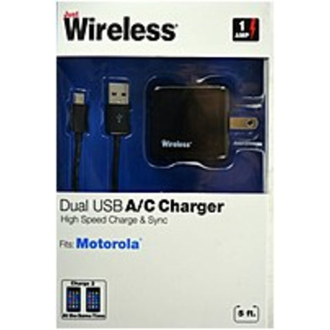 NOB Just Wireless 04253 A/C Charger for Motorola Phones
