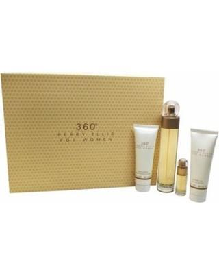 360 by Perry Ellis for Women Gift Set 4pc