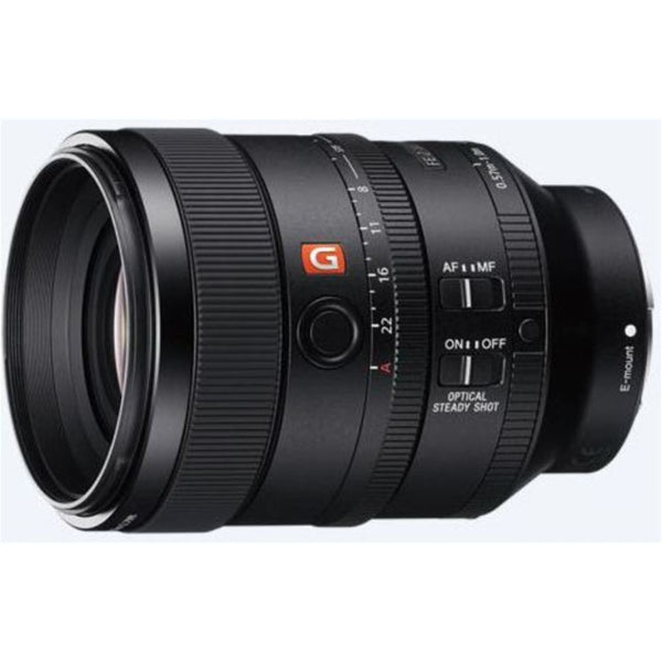 NOB Sony SEL100F28GM Fixed Prime Camera Lens - 100mm - f/2.8 - Sony E Mount
