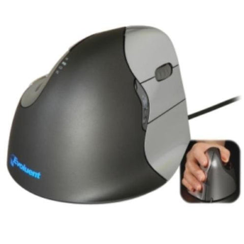 Evoluent Vertical4 Right Handed USB Mouse VM4R
