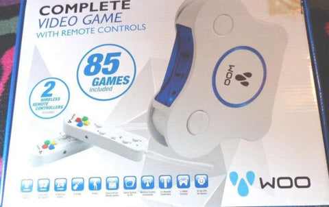 Woo Complete Video Game with Remote controls