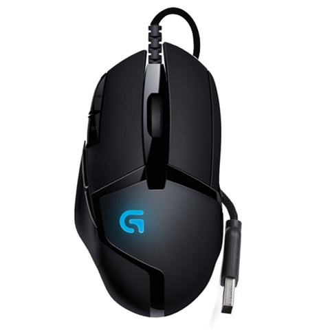 Logitech G402 Hyperion Fury FPS 8-Button USB Wired Optical Scroll Gaming Mouse w/Fusion Engine - B