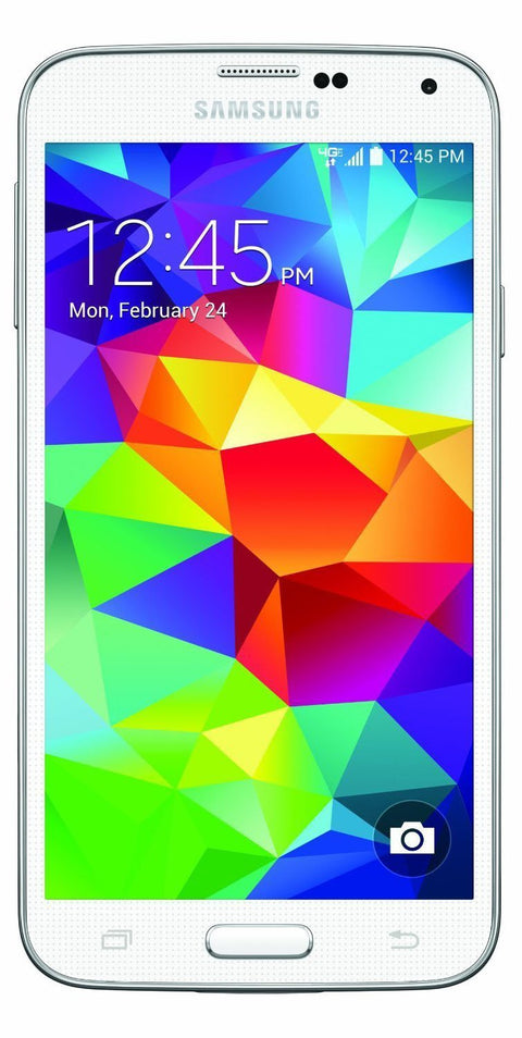 Samsung Galaxy S5 G900V 16GB Verizon CDMA Phone w/ 16MP Camera - White (Certified Refurbished)