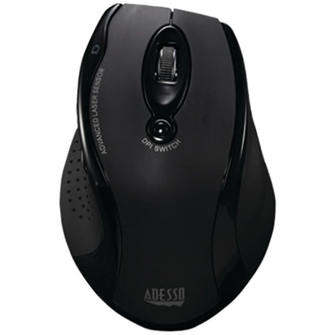 Adesso(R) IMOUSE G25 Wireless Ergonomic Laser Mouse