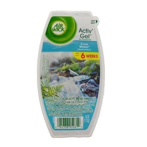 Airwick Activ Gel 4oz Fresh Water