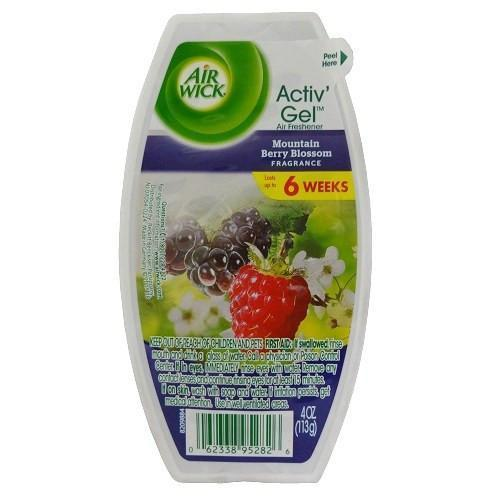 Airwick Activ Gel 4oz Mountain Berry Blossom