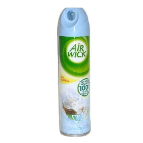 Airwick Aerosol 8oz Cool Linen & White Lilac