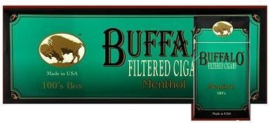 Buffalo Filtered Cigars Menthol