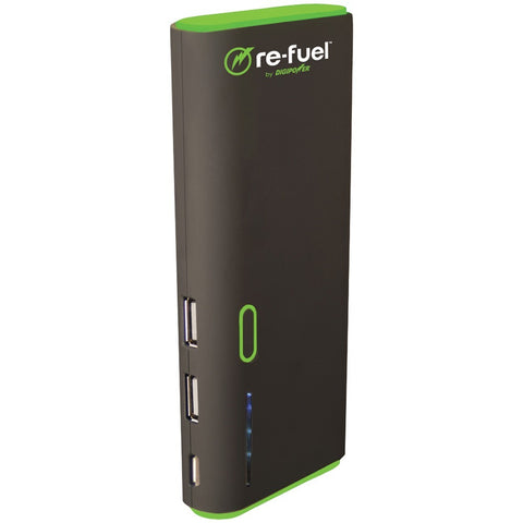 Re-Fuel(R) by DIGIPOWER(R) RF-A130 13,000mAh Juggernaut 2-Port Rechargeable Power Bank