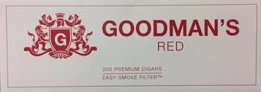 Goodman's Filtered Cigars Red